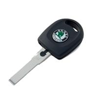 Polotovar klíče pro čip s logem Škoda a světlem