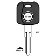Polotovar klíče pro čip TP00ISU-5P3 Isuzu