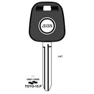 Polotovar klíče pro čip TP00TOYO-15P