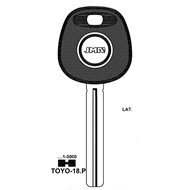 Polotovar klíče pro čip TP00TOYO-18P Lexus, Toyota