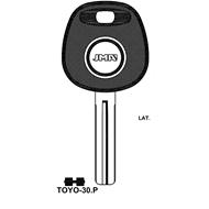 Polotovar klíče pro čip TP00TOYO-30P Lexus, Toyota