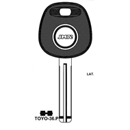 Polotovar klíče pro čip TP00TOYO-36P Lexus, Toyota