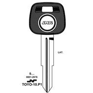 Polotovar klíče pro čip TP00TOYO-10P1 Toyota