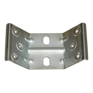Držák nohy stolů, 45°, šíře 66mm, tl. plechu 1,8mm