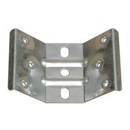 Držák nohy stolů, 45°, šíře 90mm, tl. plechu 1,8mm