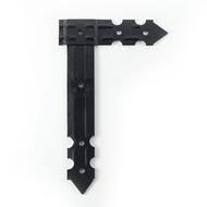 L-nosník dělený 315x195x48x2,5mm Černý