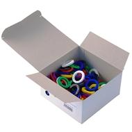 Rozlišovač ring průměr 29 mm 100 ks mix barev