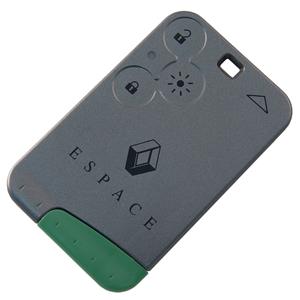Karta 3 tlačítka s planžetou Renault Espace