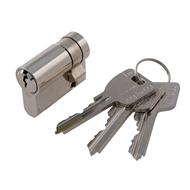 Půlvložka bezpečnostní MCM E, 3 klíče nikl