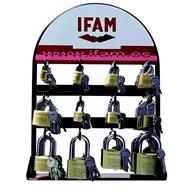 IFAM Výstavní stojan pro 12 ks visacích zámků