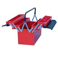 Box na nářadí kovový 5-dílný 450x210x300 mm