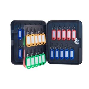 Schránka na 40 klíčů s visačkami 200x160x80 mm