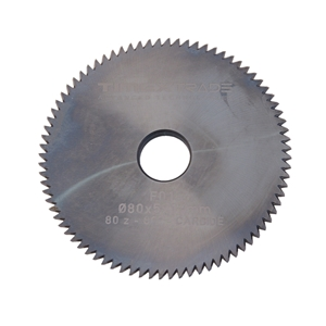 Fréza F01 80x5x16mm 80° 80 zubů CARBIDE