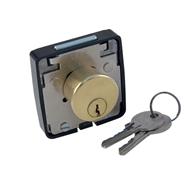 462 NS zámek nábytkový 2 klíče FAB mosaz