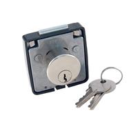 462 N NS zámek nábytkový 2 klíče FAB nikl