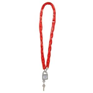 7316 zámek visací 2 klíče s řetězem