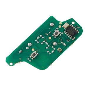 Dálkový ovladač 2 tlačítka Citroen, Peugeot 433MHz, PCF7941 rok 2011 a dále