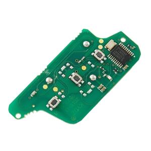 Dálkový ovladač 3 tlačítka Citroen, Peugeot 433MHz, PCF7941