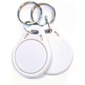 Bezkontaktní RFID klíčenka IDKEY-ECO, 125kHz, bílá