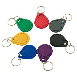 Bezkontaktní klíčenky RFID TK4100/EM4100 125kHz, model 2, nepřepisovatelné