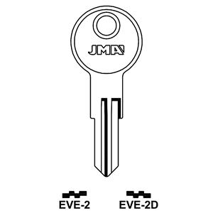 Polotovar klíče EVE-2