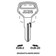 Polotovar klíče EUB-2D