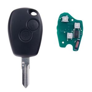 Klíč s dálkovým ovladačem RENAULT/DACIA 2 tlačítka 433 MHz, čip ID46 (HITAG2) PCF7946