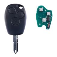 Klíč s dálkovým ovladačem RENAULT/DACIA 3 tlačítka 433 MHz, čip ID46 (HITAG2) PCF7946