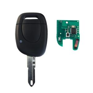 Klíč s dálkovým ovladačem RENAULT 1 tlačítko 433 MHz, čip ID46 (HITAG2) PCF7946