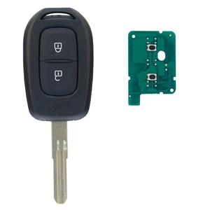 Klíč s dálkovým ovladačem RENAULT/DACIA 2 tlačítka 433 MHz, čip HITAG-AES 4A PCF7961M