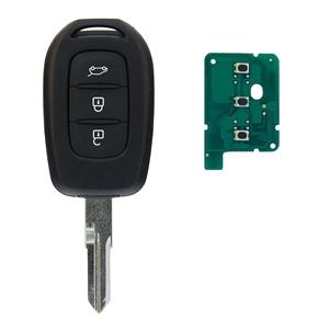 Klíč s dálkovým ovladačem RENAULT/DACIA 3 tlačítka 433 MHz, čip HITAG-AES 4A PCF7961M