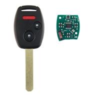 Klíč s dálkovým ovladačem HONDA 2+1 tlačítka, 433 MHz, čip ID46 (HITAG2) PCF7961