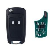 Klíč s dálkovým ovladačem OPEL Corsa D 2 tlačítka 433 MHz, čip ID46 (HITAG2) PCF7941
