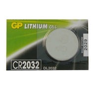 Baterie GP CR2032,  3V, 220mAh, Lithium, 20x3,2mm