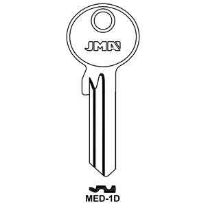 Polotovar klíče MED-1D