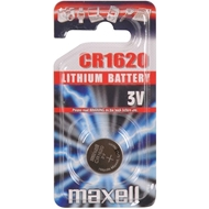 Baterie MAXELL CR1620,  3V, Lithium, 16x2,0 mm