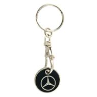 Přívěšek na klíče žeton Mercedes