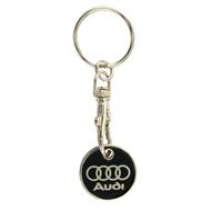 Přívěšek na klíče žeton Audi