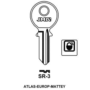 Polotovar klíče SR-3