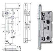 K 111 P-L zámek zadlabací WC 6x6