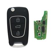 Dálkový ovladač XKHY02EN 3 tlačítka Xhorse Wired