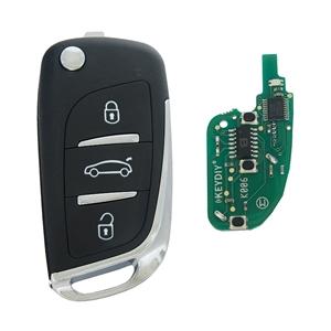 Dálkový ovladač NB11, 3 tlačítka KeyDIY, s čipem ID46 (HITAG3), PCF7961X