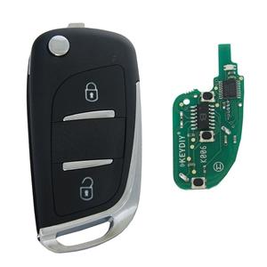 Dálkový ovladač NB11, 2 tlačítka KeyDIY, s čipem ID46 (HITAG3), PCF7961X
