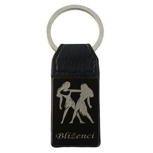 Přívěšek na klíče znamení Blíženci