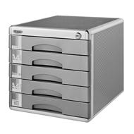Zásuvkový box zamykatelný, 5 zásuvek  298x358x306 mm