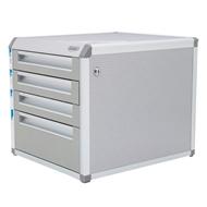 Zásuvkový box zamykatelný, 3+1 zásuvky  315x350x398 mm