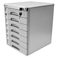 Zásuvkový box zamykatelný, 7 zásuvek  298x358x405 mm