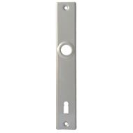 Štíty vratové pro klíč K 411 stříbrné