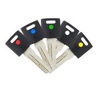 Polotovary klíčů pro cylindrické vložky EURO XColor