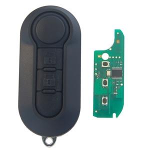Dálkový ovladač Fiat, PSA, 2 tlačítka, Delphi BSI
